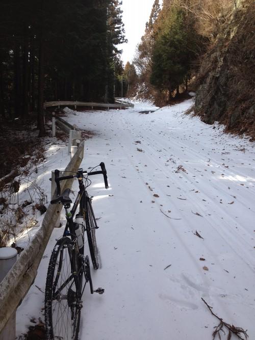 冬の自転車遊びのススメ①♪