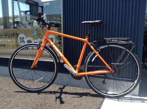 BackRack Deluxe L 自転車リアキャリアをクロスバイクにつけました
