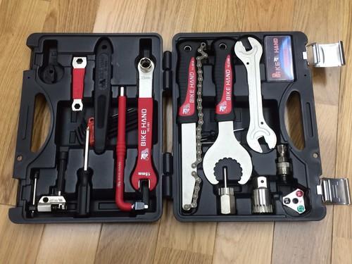 自転車メンテに興味が出てきたら・・・な工具セット♪