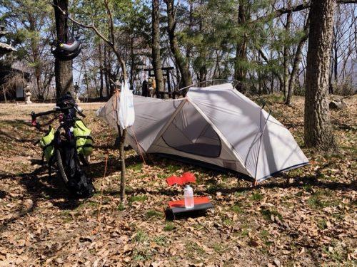 【検証】荷物を満載したグラベルロードでキャンプは行けるのか!?