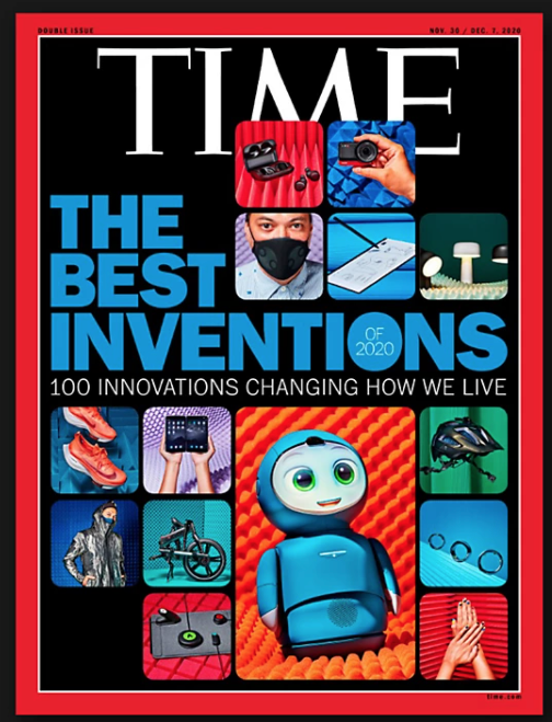 WaveCelがTIME誌『Best Inventions of 2020』に選出!